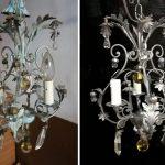 lucidatura metalli lampadario genova