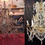 restauro lampadari goccia